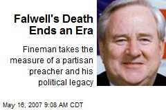 Falwell's Death Ends an Era