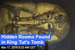 Hidden Rooms Found in King Tut's Tomb
