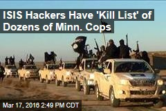ISIS Hackers Have 'Kill List' of Dozens of Minn. Cops