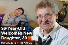 96-Year-Old Welcomes New Daughter, 30