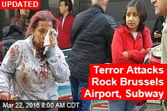 Blasts Shake Brussels Airport