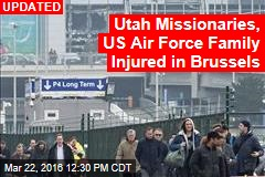 3 Utah Missionaries Injured in Brussels