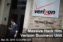 Massive Hack Hits Verizon Business Unit