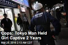 Cops: Tokyo Man Held Girl Captive 2 Years