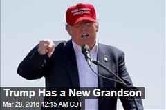 Trump Has a New Grandson