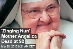 'Zinging Nun' Mother Angelica Dead at 92
