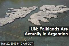 UN: Falklands Are Actually in Argentina