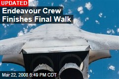 Endeavour Crew Finishes Final Walk