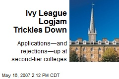 Ivy League Logjam Trickles Down