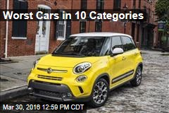 Worst Cars in 10 Categories
