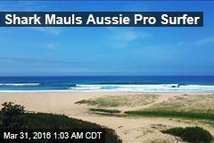 Shark Mauls Aussie Pro Surfer