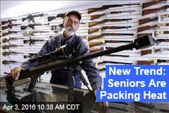 New Trend: Seniors Are Packing Heat