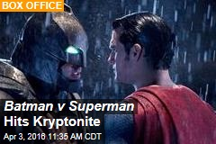 Batman v Superman Hits Kryptonite