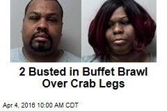 2 Busted in Buffet Brawl Over Crab Legs
