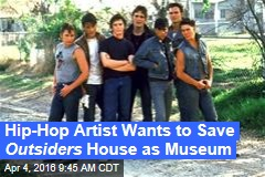 Hip-Hop Artist Wants to Save Outsiders House as Museum