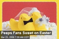 Peeps Fans Sweet on Easter