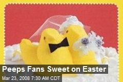 Peeps Fans Sweet on Easter