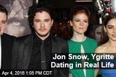 who is jon snow dating in real life