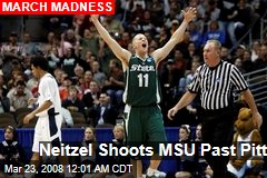 Neitzel Shoots MSU Past Pitt