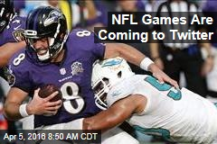 NFL Games Are Coming to Twitter