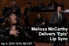 Melissa McCarthy Delivers 'Epic' Lip Sync