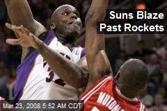 Suns Blaze Past Rockets