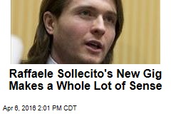 Raffaele Sollecito's New Gig Makes a Whole Lot of Sense