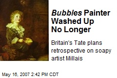 Bubbles Painter Washed Up No Longer