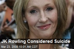 JK Rowling Considered Suicide