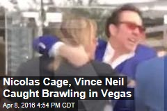 Nicolas Cage, Vince Neil Caught Brawling in Vegas