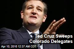 Ted Cruz Sweeps Colorado Delegates