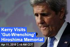 Kerry Visits 'Gut-Wrenching' Hiroshima Memorial