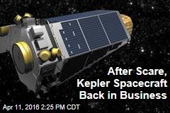 After Scare, Kepler Spacecraft Back in Business