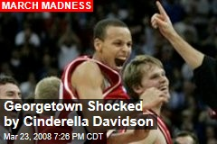 Georgetown Shocked by Cinderella Davidson