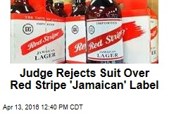Judge Rejects Suit Over Red Stripe 'Jamaican' Label