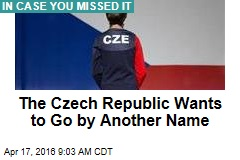 Czech Republic Adopts Catchier Name