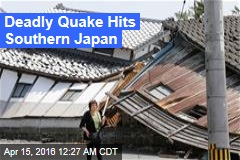 Deadly Quake Hits Southern Japan