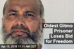 Oldest Gitmo Prisoner Loses Bid for Freedom