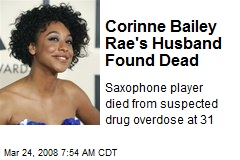 Corinne Bailey Rae's Husband Found Dead