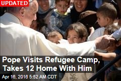 Pope Pays Emotional Visit to Refugee Camp