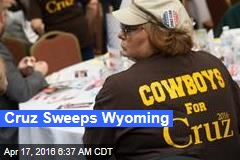 Cruz Sweeps Wyoming