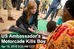 US Ambassador's Motorcade Hits, Kills Boy in Cameroon