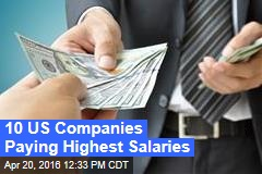 10 US Companies Paying Highest Salaries