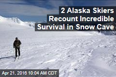 2 Alaska Skiers Recount Incredible Survival in Snow Cave