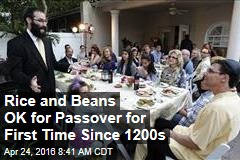 Rice and Beans OK for Passover for First Time Since 1200s