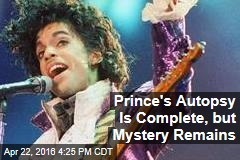 Prince's Autopsy Is Complete, but Mystery Remains