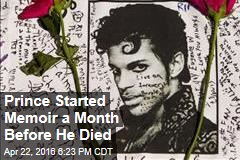 Prince Started Memoir a Month Before He Died