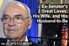 Ex-Senator's 2 Great Loves: His Wife, and His Husband-to-Be