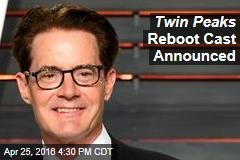 Twin Peaks Reboot Cast Announced
