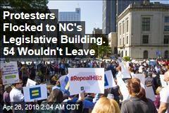 Dozens Arrested Protesting North Carolina Law